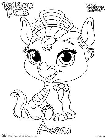 Skgaleana skgaleana part 6 for Princess pets coloring pages