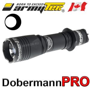 Фонарь Armytek Dobermann Pro XHP35 HI белый холодный свет