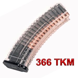 Прозрачный магазин для ВПО-209, ВПО-213 на 30 патронов калибр 366ТКМ