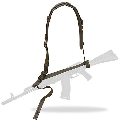 Оружейный ремень Долг м3 универсальный зеленый
