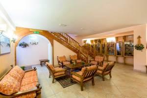 Hotel Trieste lounge