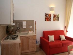 La Pinetina Residence kitchen