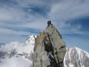 Dent du Geant 4013m, Mont Blanc Massif, France