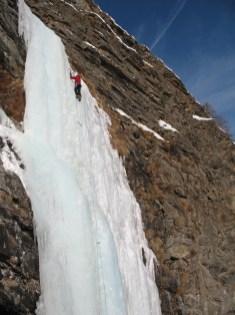 Ice Climbing, Italy