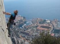Hot Rock high above Monaco, France