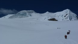 On route to Mera Peak High Camp, Nepal