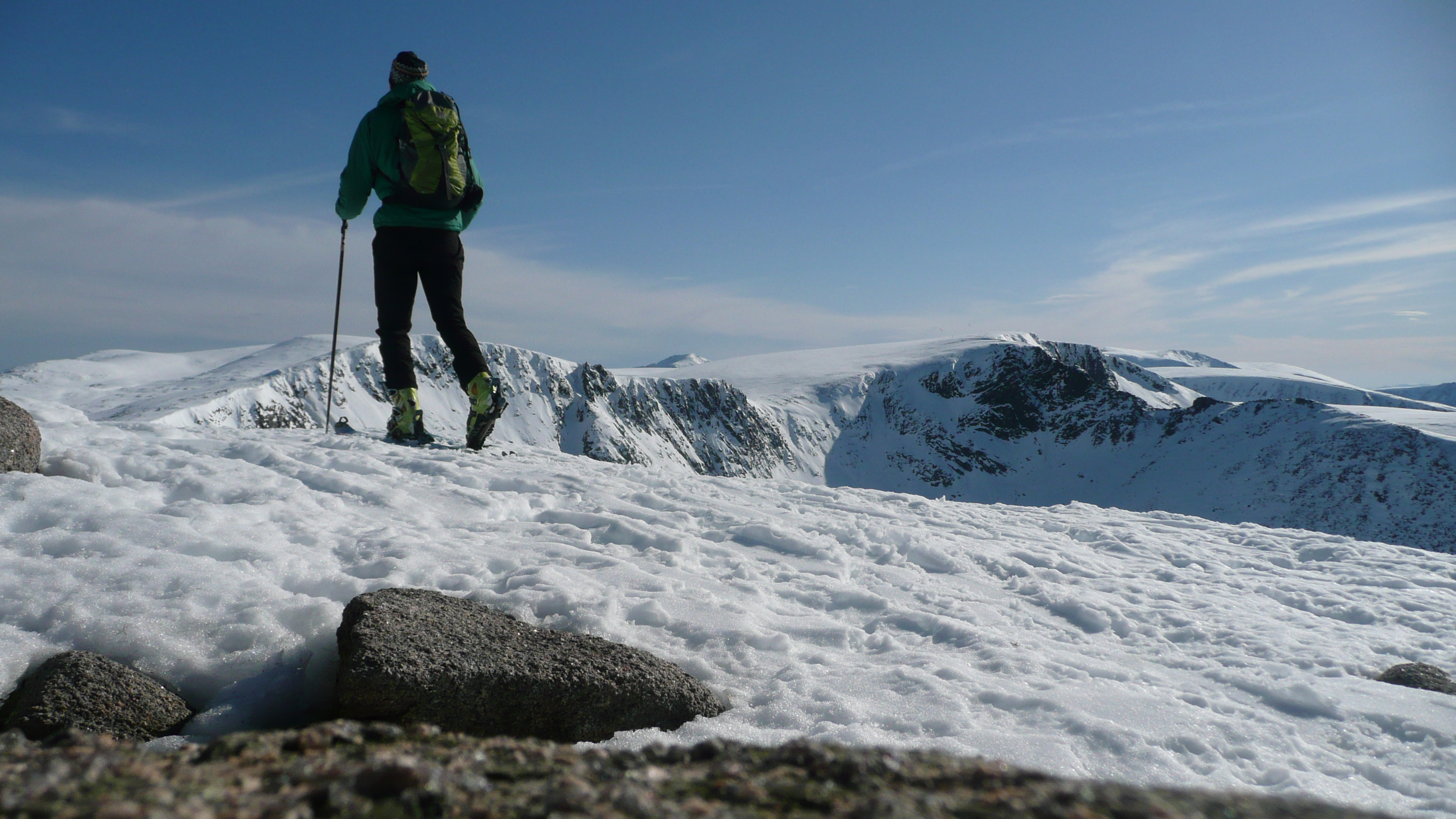 Scottish ski touring