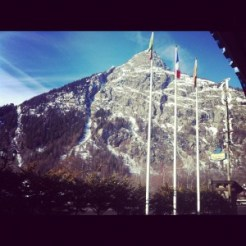 View from the Hotel Mont Blanc