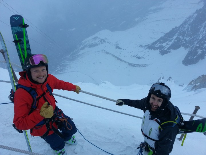Easter weekend Vallee Blanche