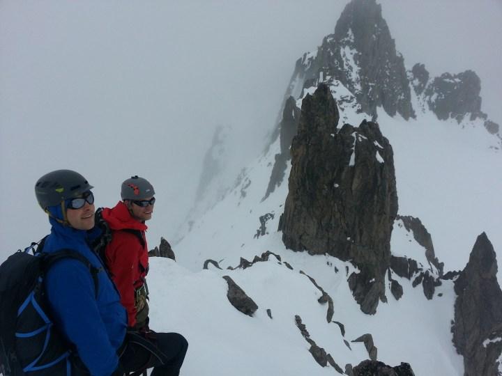 Aiguilles Marbrées for @High_Mt_Guides