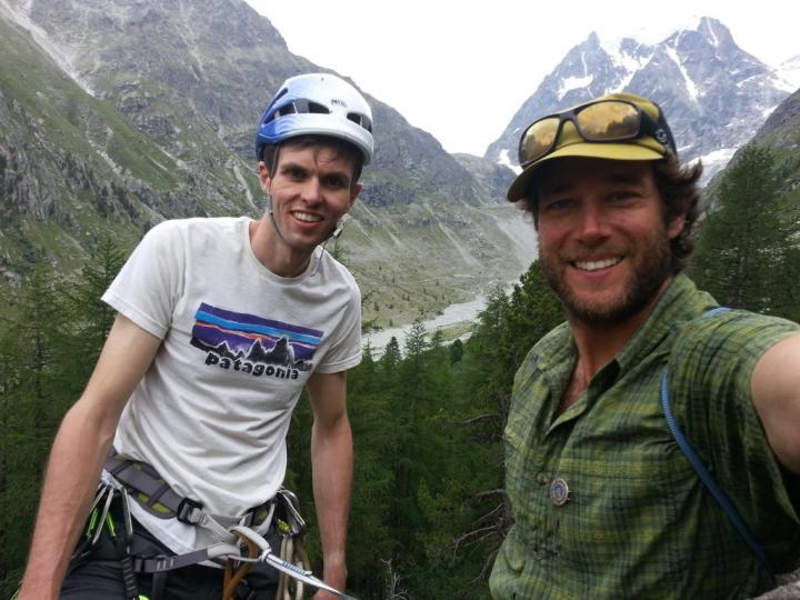#rockclimbing day in #Arolla valley.