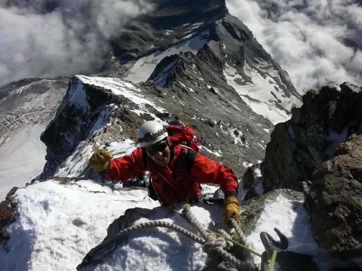 #Matterhorn summit today with team @Vert_Frontiers