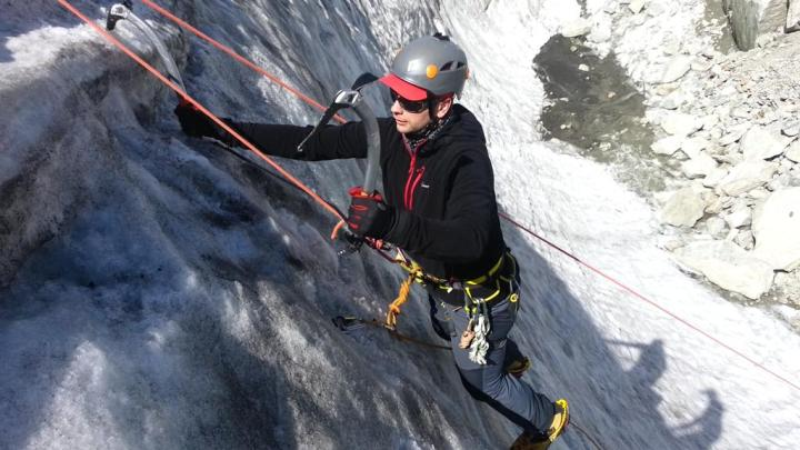 Ice Climbing, In summer!