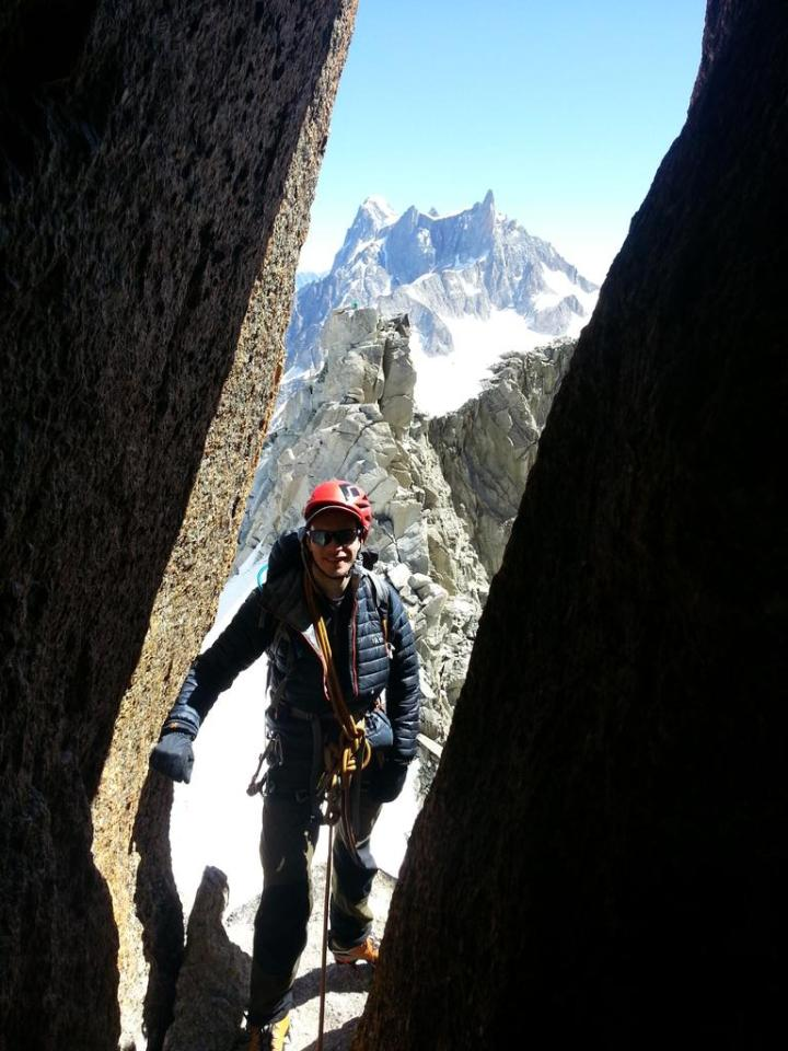 Caving in the mountains…