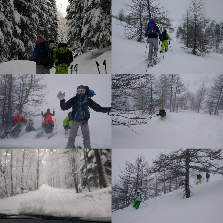 Adventurous day in Italy