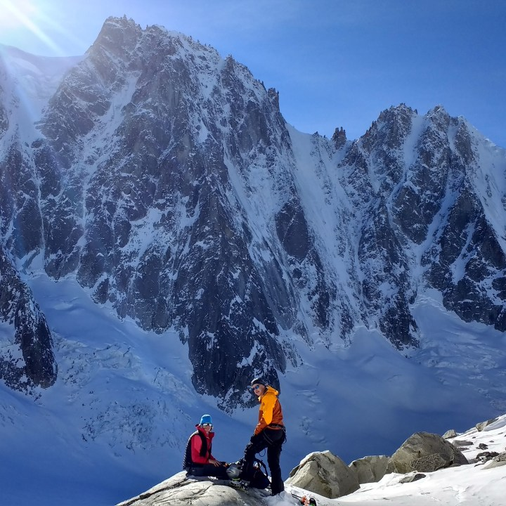 Nice day in the Argentiere basin