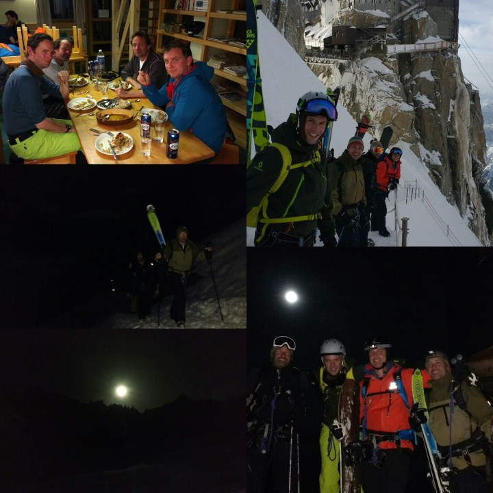 #moonlit #valleeblanche descent