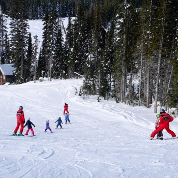learn to ski family friendly Baldy Mountain Resort