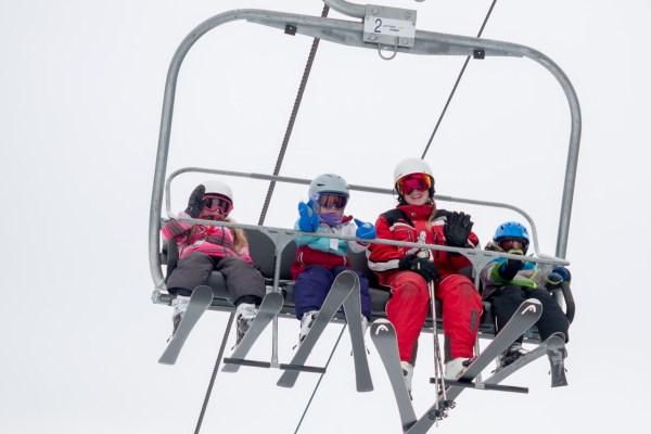 Skiing Baldy Backwoods Mamma
