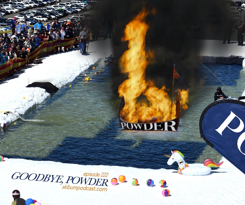 goodbye powder