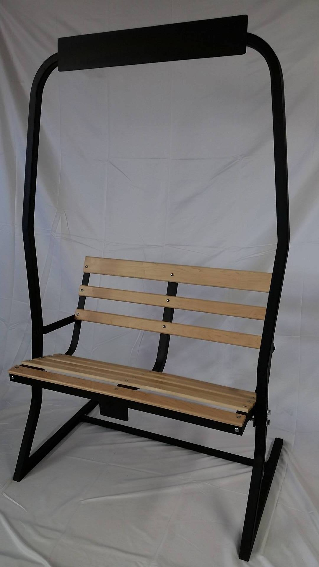 Ski Chairlift Bench Hand Refurbished To Order