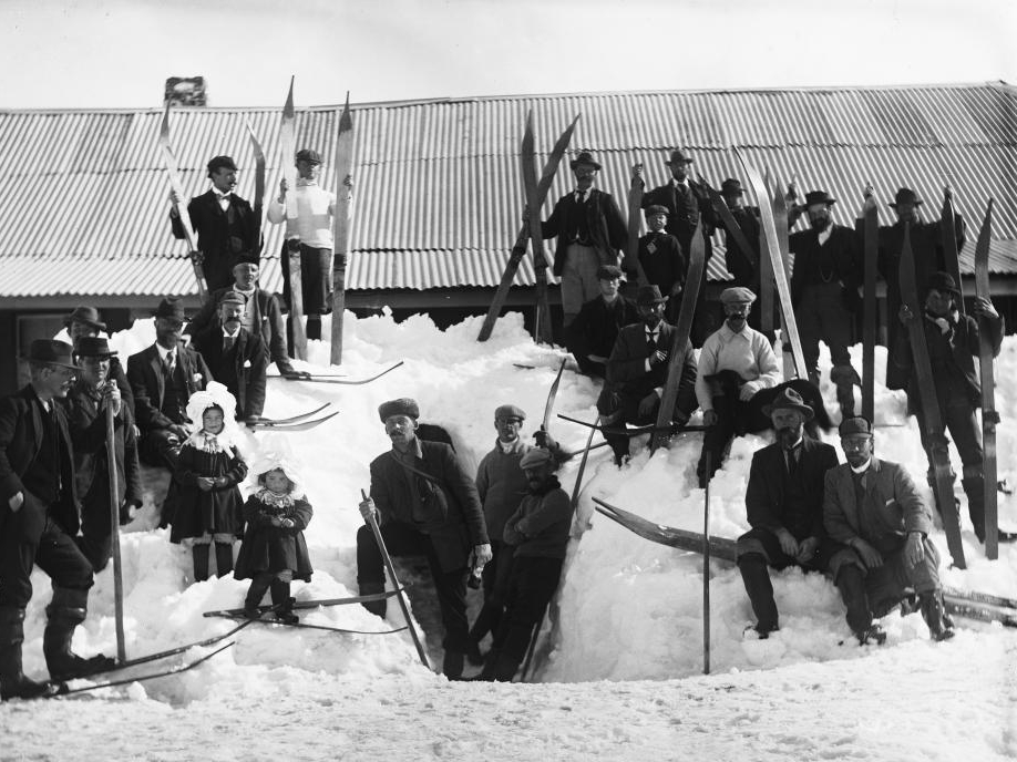 Image result for pictures of victorian skiiers