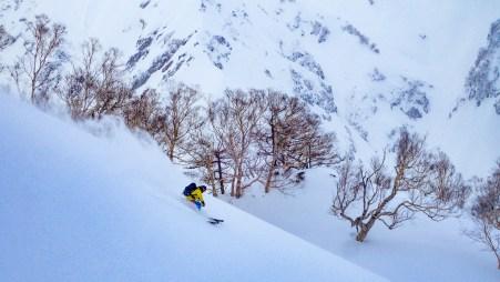 Joel skiing Happo One Kita