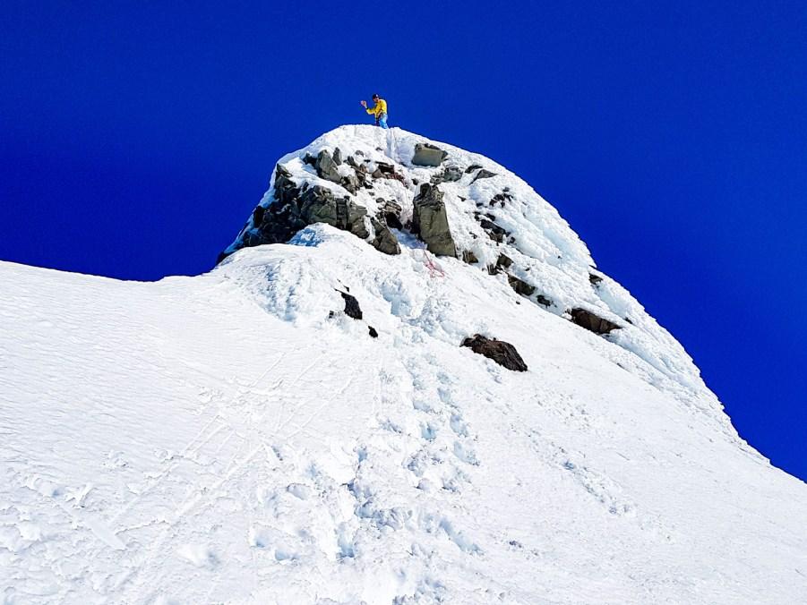 Joel on the summit of Footstool