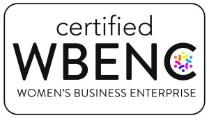 Certified WBE by WBENC Logo