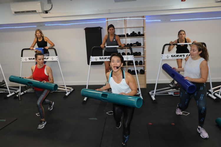 Shred Fitness focuses on a full-body HIIT workout