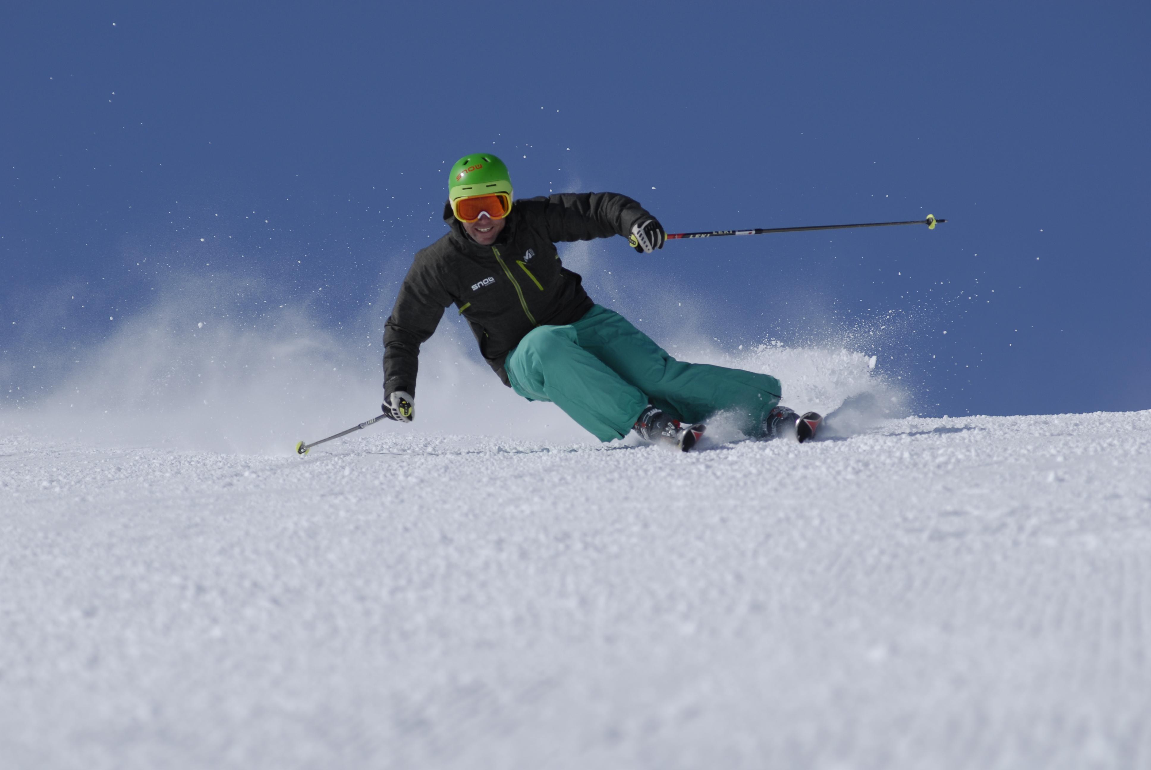 New Year's Resolution Ski