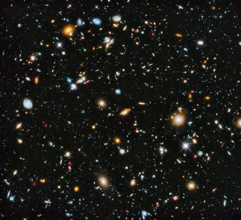 The Hubble Ultra-Deep Field (HUDF) image