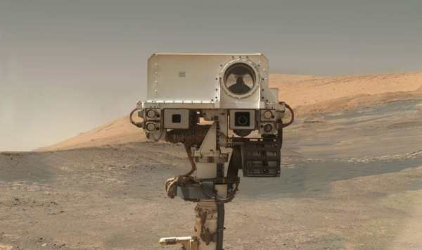mars rover curiosity selfie