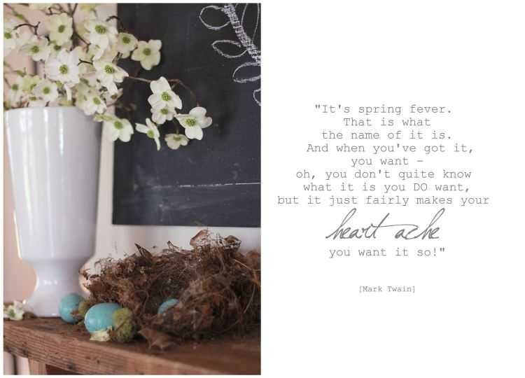 spring fever quote
