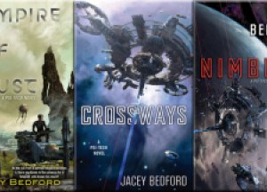 Guest Post: Things I Wish I Knew When I Started – Thoughts on Finishing a Trilogy by Jacey Bedford