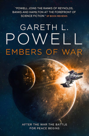 349. Gareth L. Powell (a.k.a. The Baron), Embers of War