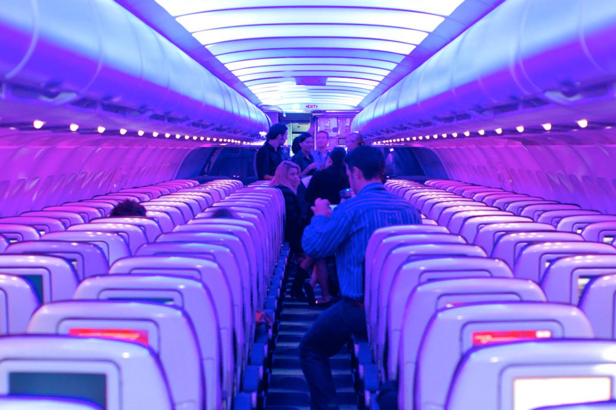 Virgin America Learns Mood Lighting Is No Rival To A Well
