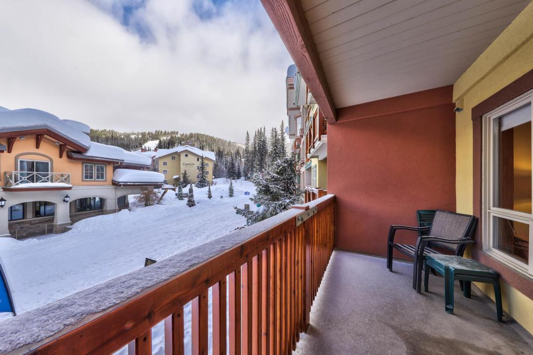 Fireside Lodge 1 Bedroom Unit #214 View