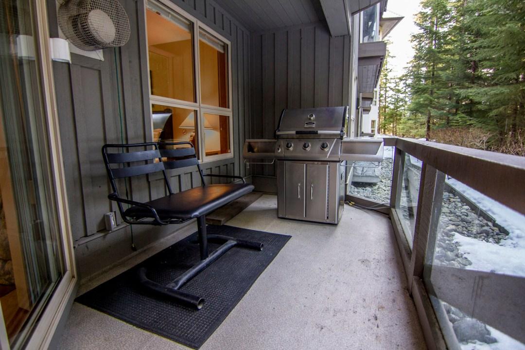 Aspens 1 Bedroom Unit 116 BBQ