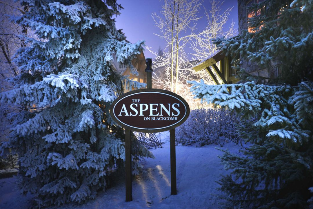 Aspens 2 Bedroom Unit 547 SIGN