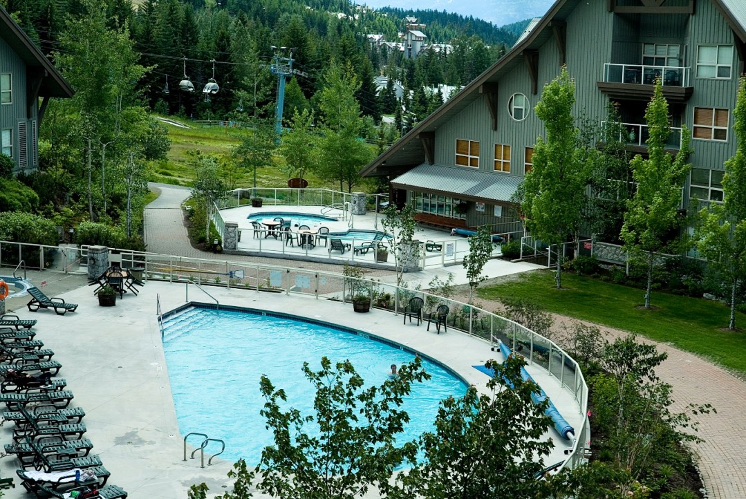 Aspens on Blackcomb Pool and Hot Tubs