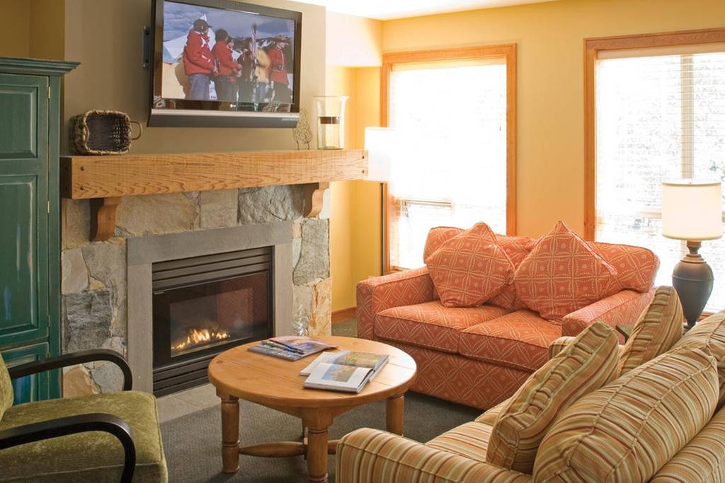 Club Intrawest Whistler Living Room