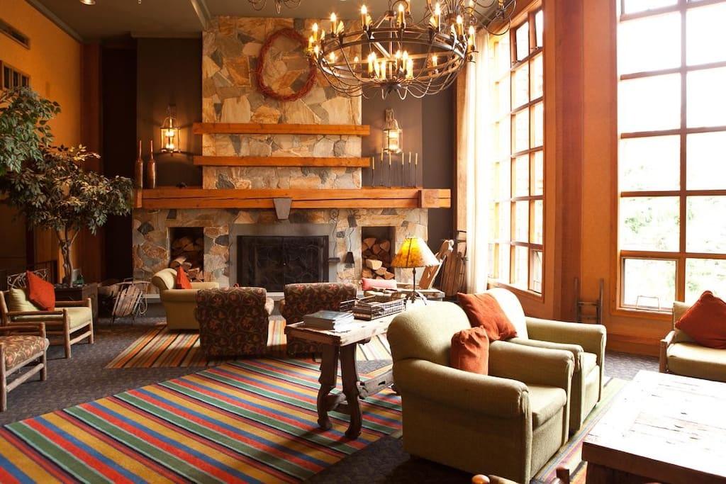 Club Intrawest Whistler Lobby