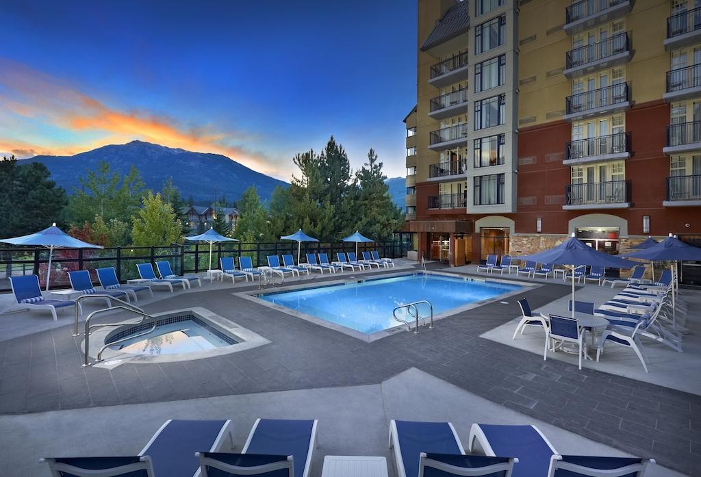 Hilton Whistler Hotel Pool Area