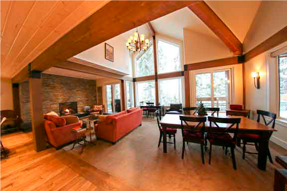 Northern Lights Whistler 42 living space