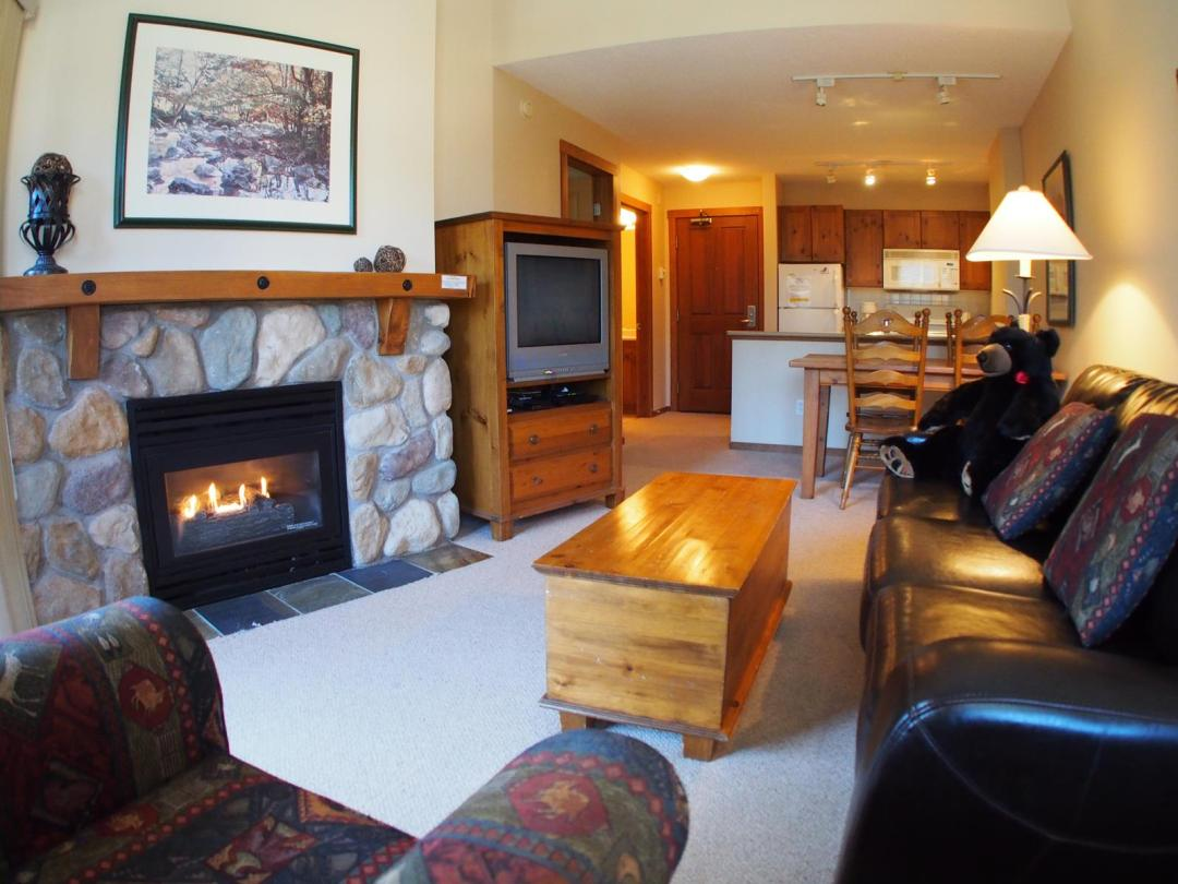 Fireside Lodge 1 Bedroom Unit #419 LR