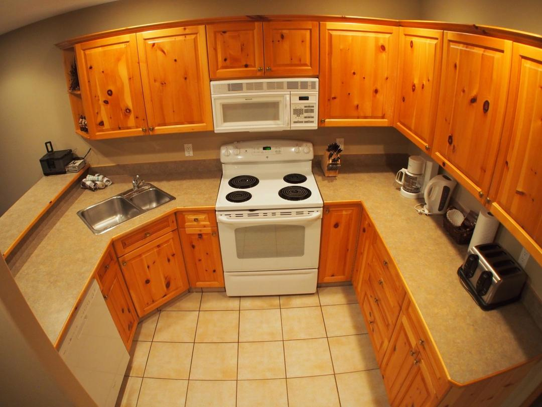 Snow Creek 3 Bedroom Unit #9 KIT