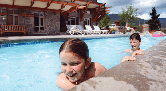 Pan Pacific Whistler Village Centre Swimming