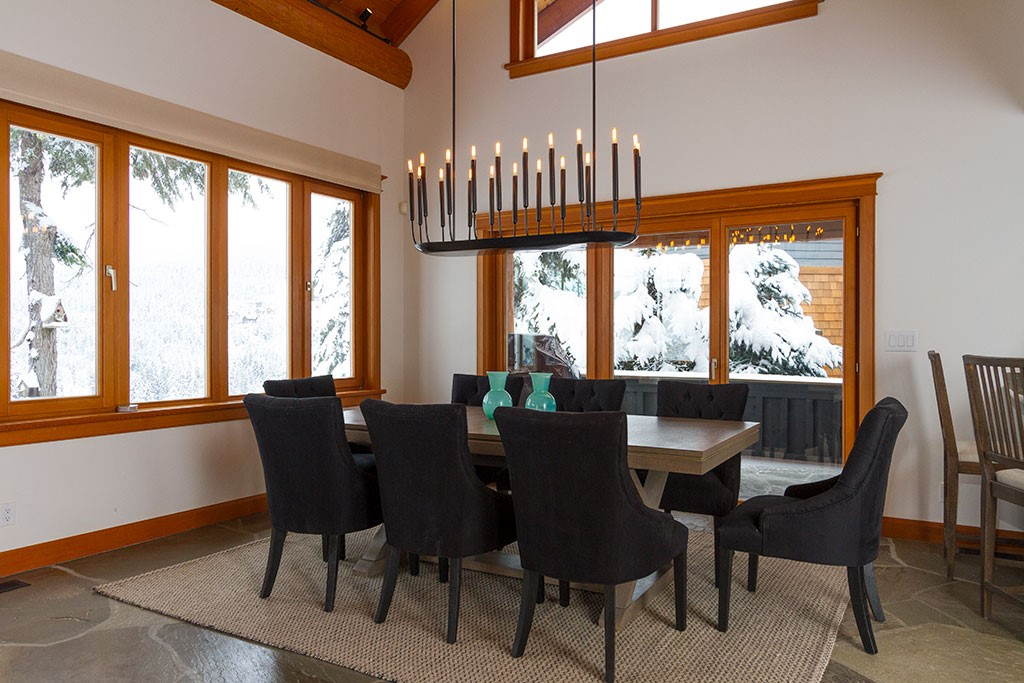 Peak Chalet Whistler Luxury Dining Table