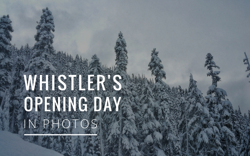 Photos from Opening Day at Whistler Blackcomb